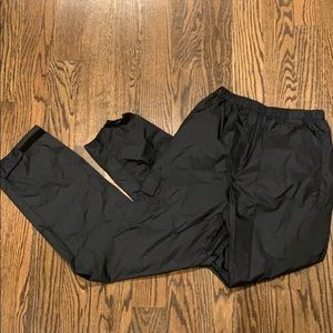 Youth Large Black Columbia Rain Pants